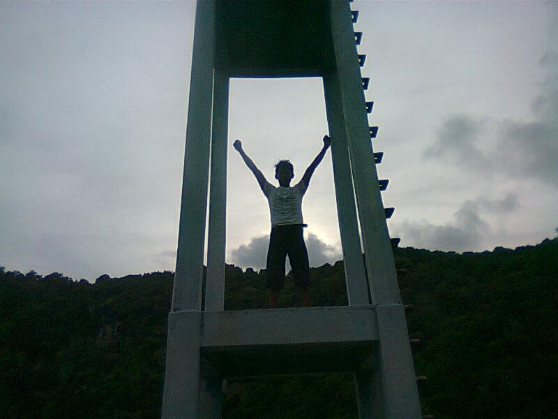 Adventure tower Tawang katipugal pantai pacitan