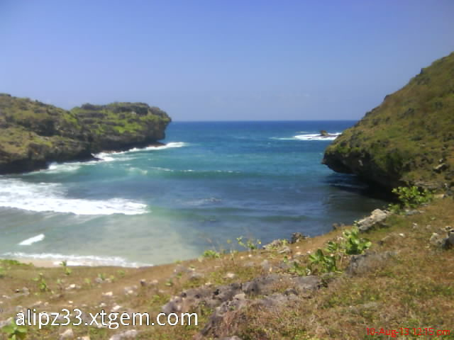 Srau laut biru - pantai pacitan