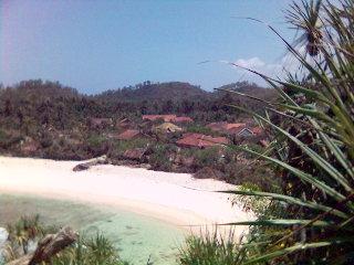 Srau pasir putih - pantai pacitan