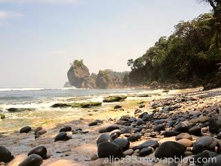 Batuan ujung barat pantai pidakan jetak tulakan pacitan