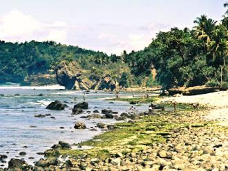 Bukit barat pantai pidakan jetak tulakan pacitan