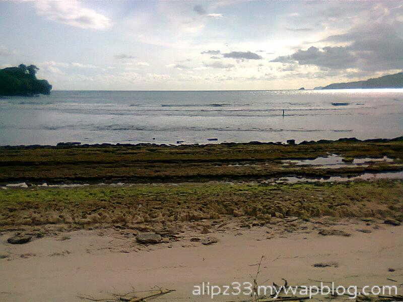 Landscape pantai daki sukorejo sudimoro pacitan