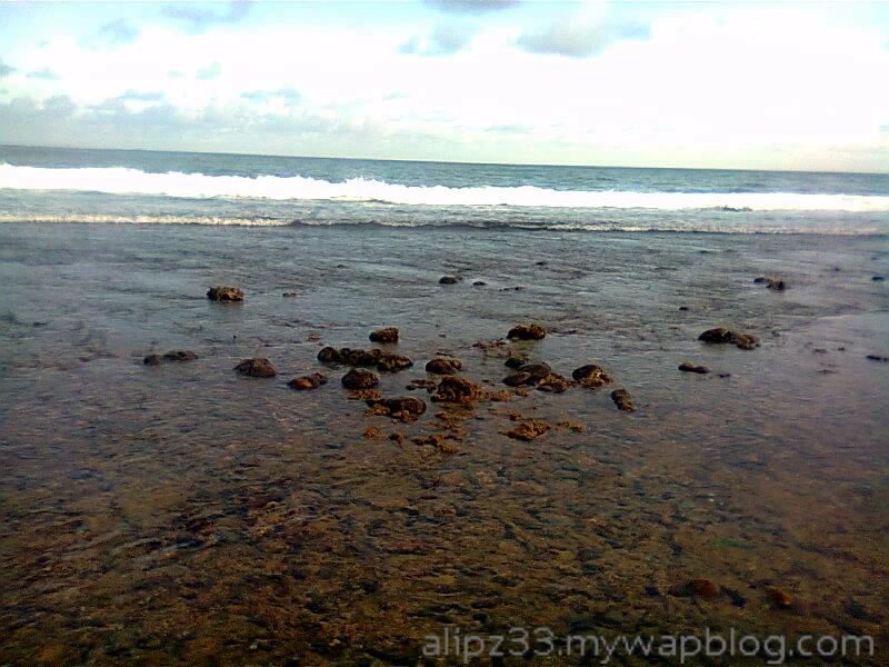 Landscape pantai wawaran ngobyok sumberejo sudimoro pacitan