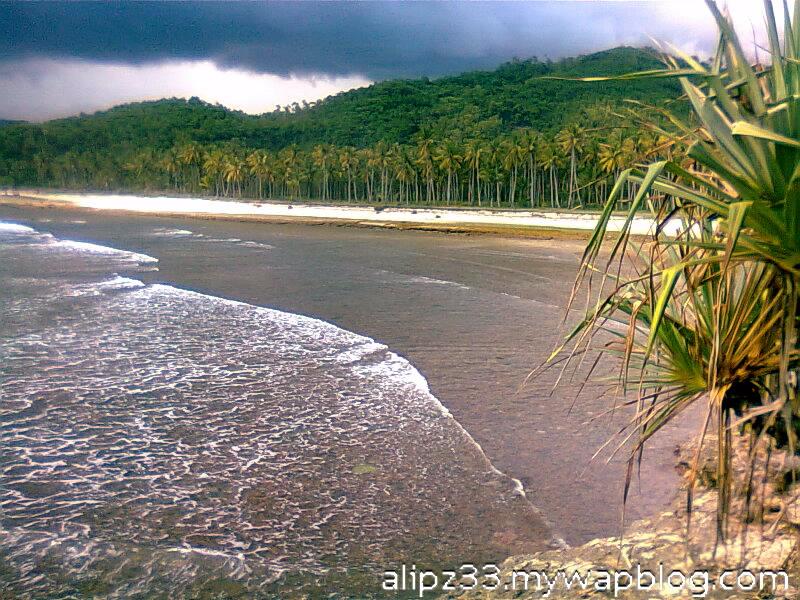 Lokasi 1 dari bukit pantai daki sukorejo sudimoro