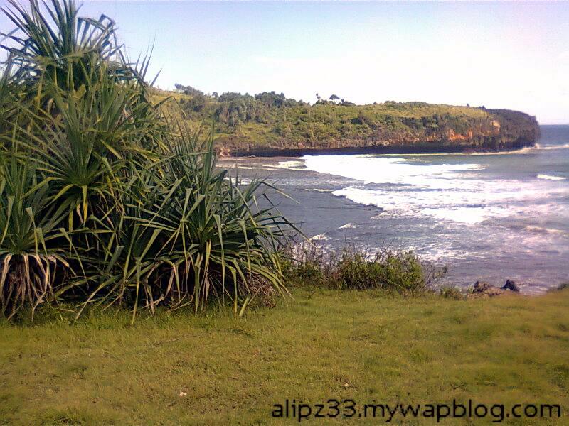 Lokasi ke2 pantai daki sukorejo sudimoro pacitan