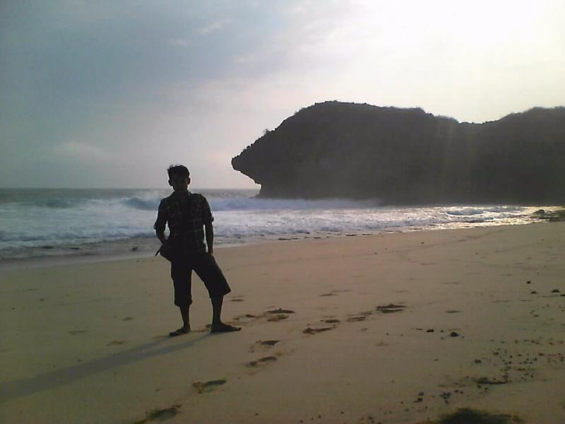 petualang arah barat pantai denombo jlubang pringkuku wisata pacitan