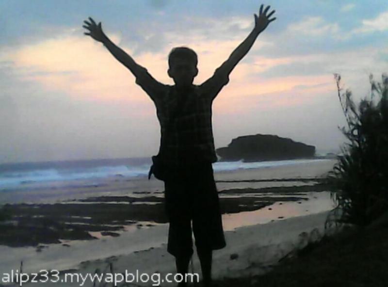 trip sunset pantai ngalian pringkuku pacitan