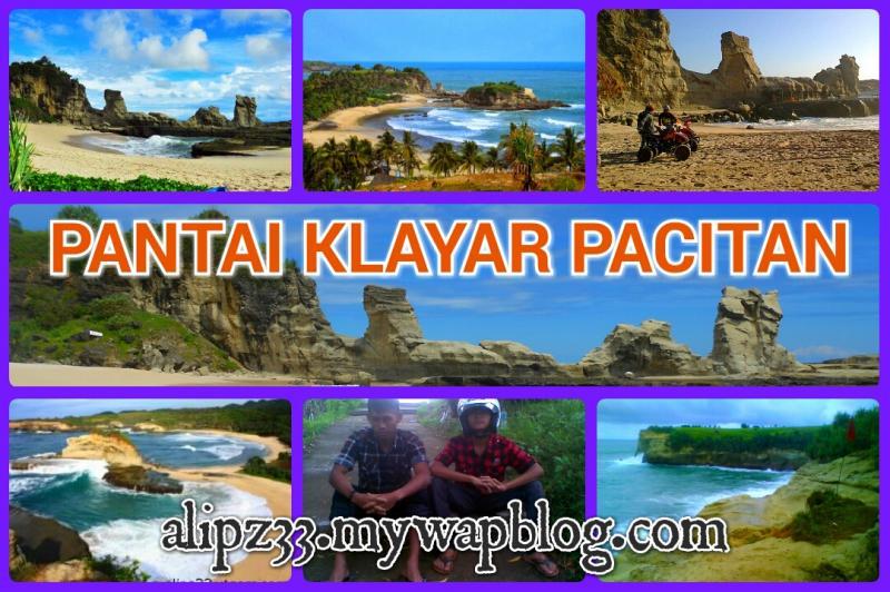 Pantai-klayar- pacitan gambar foto
