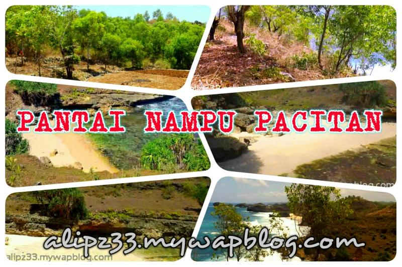gambar foto Pantai Nampu Jlubang Pringkuku Pacitan