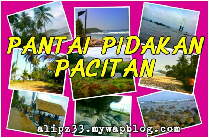 gambar foto Pantai pidakan Pacitan