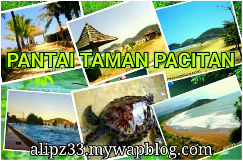 gambar foto Pantai Taman Pacitan