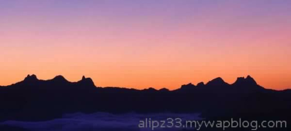 sunrise gunung limo pacitan