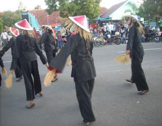 upacara adat methik pari jeruk bandar pacitan