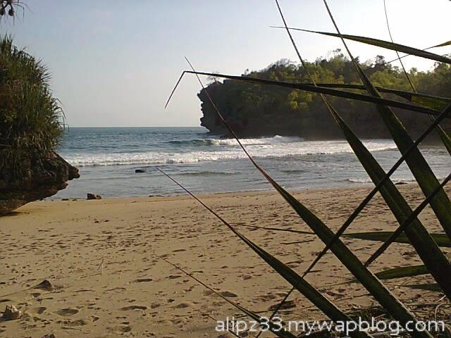 landscape - Pantai ngoyan worawari kebonagung pacitan jawa timur